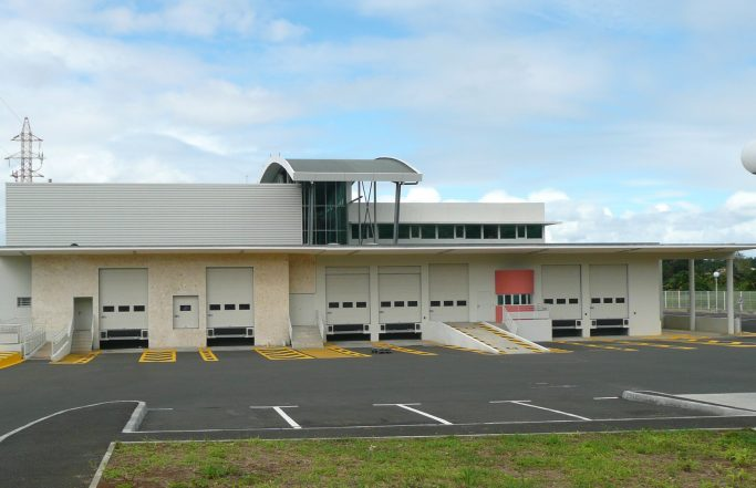 Pôle Logistique du CHU de Pointe-à-Pitre